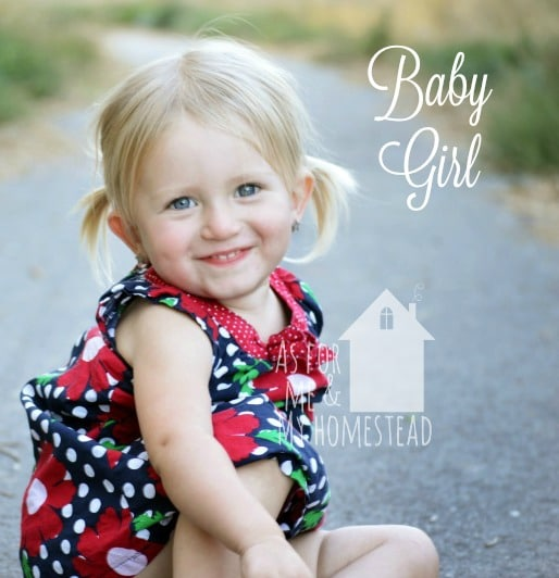 Meet the kids: Baby Girl