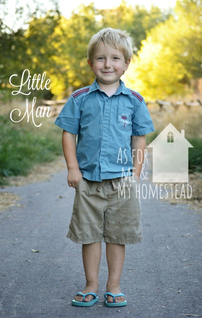 Meet the kids: Little Man