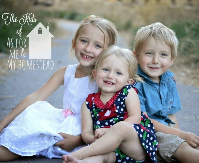 Meet the Kids of As for Me and My Homestead