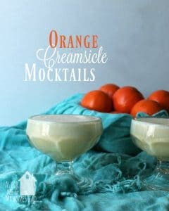 Orange Creamsicle Mocktail