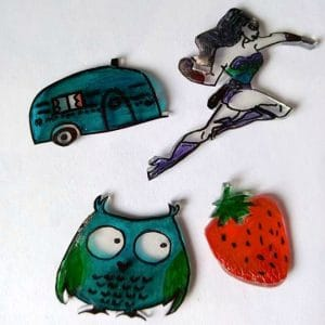 DIY Recycled Shrinky Dinks