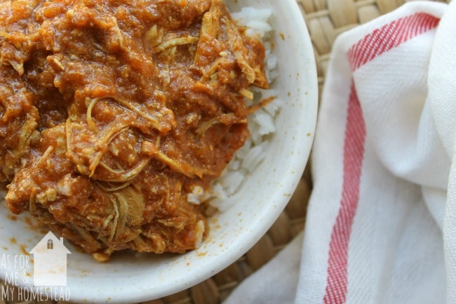Slow Cooker Coconut Curry Chicken is a delicious and flavorful chicken curry recipe that is made easily in your Crock Pot.