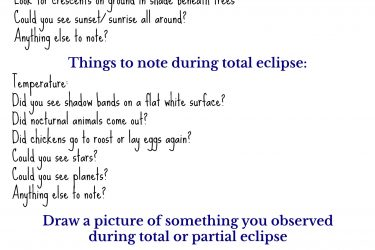 Solar Eclipse Printable