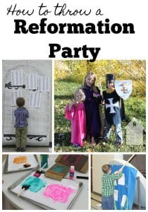 How to Throw a Reformation Party