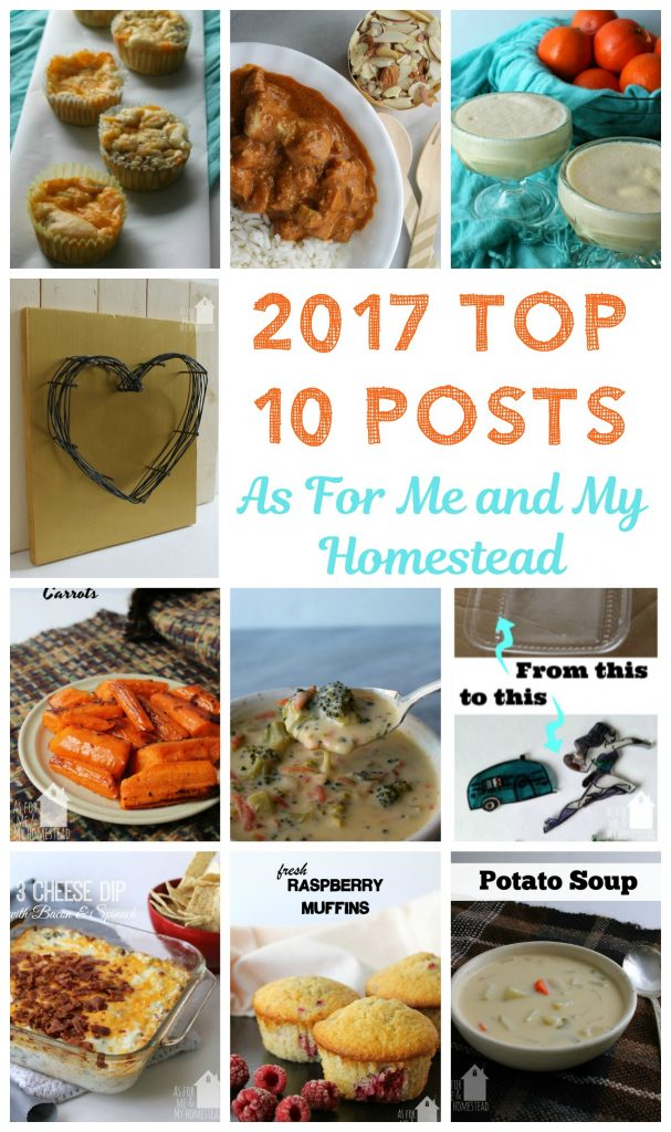 The 10 most popular posts of 2017 | As For Me and My Homestead