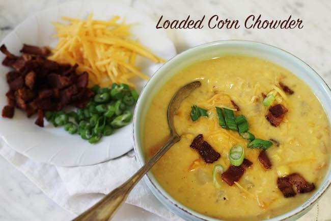 Loaded Corn Chowder