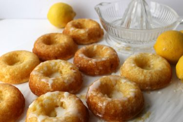 Lemon Donuts with Lemon Glaze