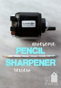 Awesome Pencil Sharpener Review