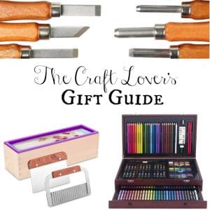 Craft Lover Gift Guide & Hobby Lobby Giveaway