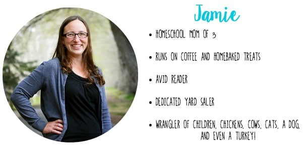 Learn more about Jamie, the homeschooling, homesteading mom behind As for Me and My Homestead