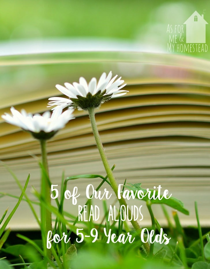 5 of Our Favorite Read Alouds for 5-9 Year Olds