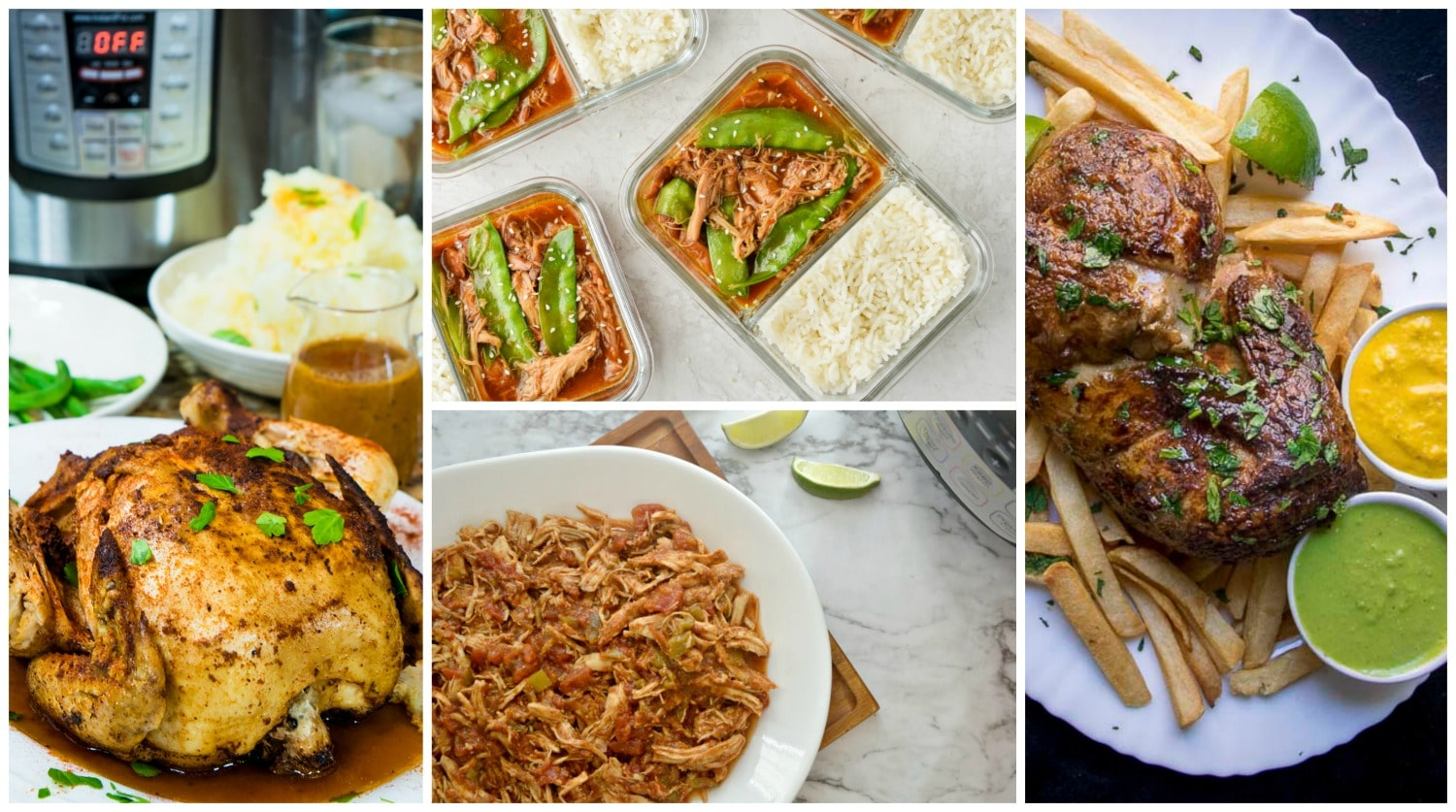 Instant Pot Chicken Recipes Dinners