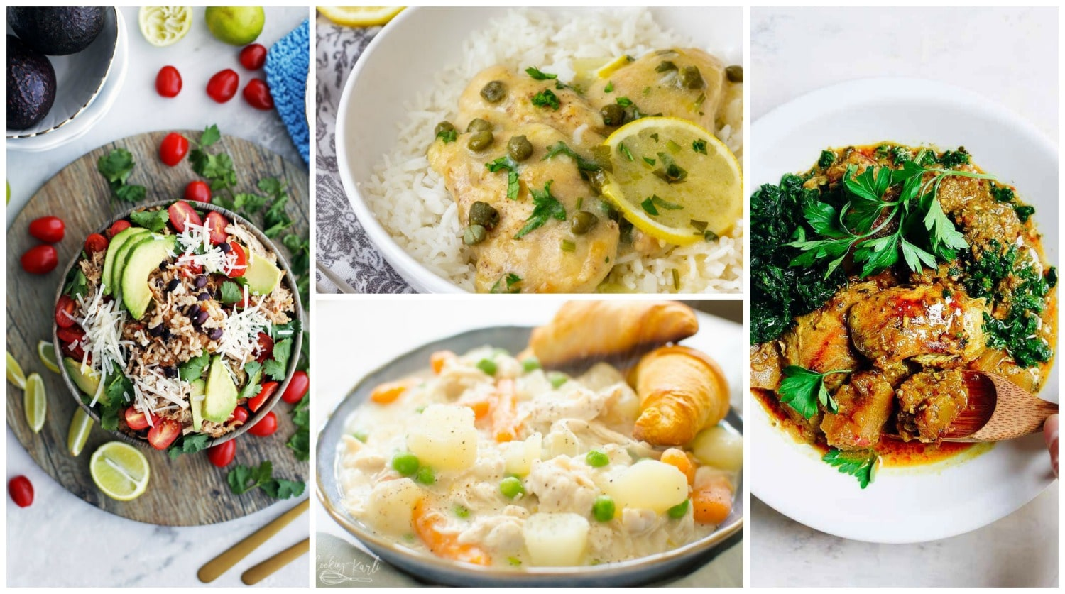 Instant Pot Chicken Recipes: Dinners & Soups