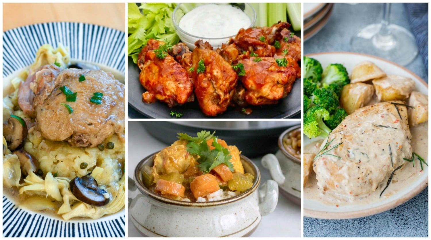 Instant Pot Chicken Recipes: Dinners and Soups