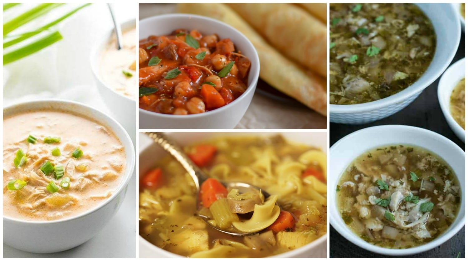 Instant Pot Chicken Recipes: Soups & Dinners