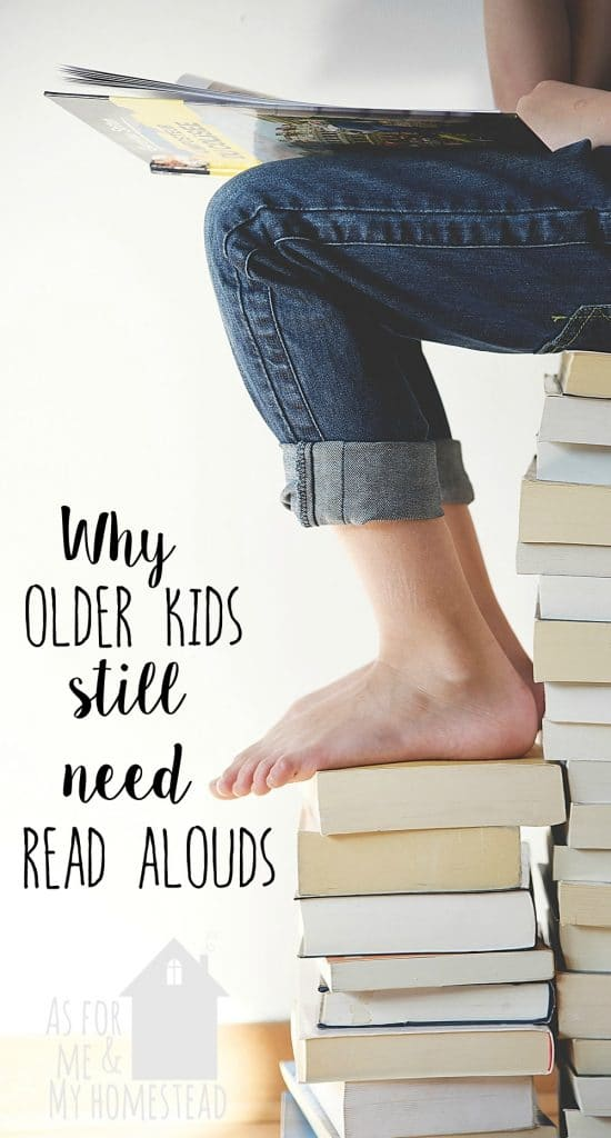 Find out why read alouds aren't just for babies and toddlers! Plus a $100 Usborne Books giveaway!