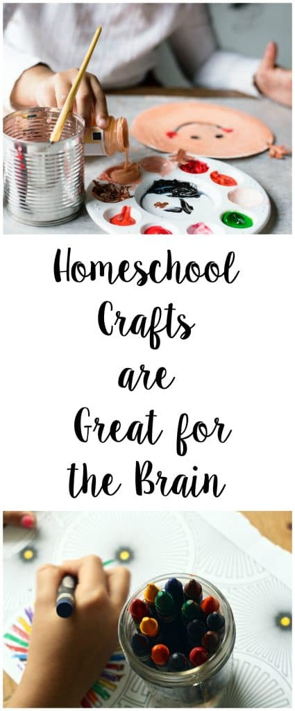 Find out why you should incorporate homeschool crafts into your lesson plan, plus ideas of how to do so.