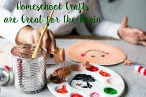 Homeschool Crafts are Great for the Brain