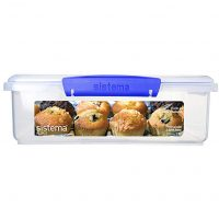 Sistema Bakery Food Storage Container, 14.8 Cup, BPA Free