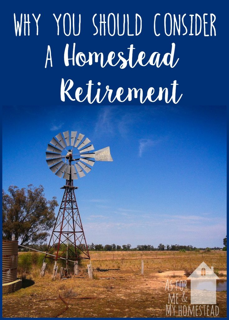 Getting close to retirement, and trying to decide what's next?  Find out why you should consider a homestead retirement.