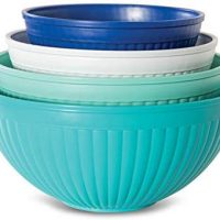 Nordic Ware Prep & Serve Mixing Bowl Set, 4-pc
