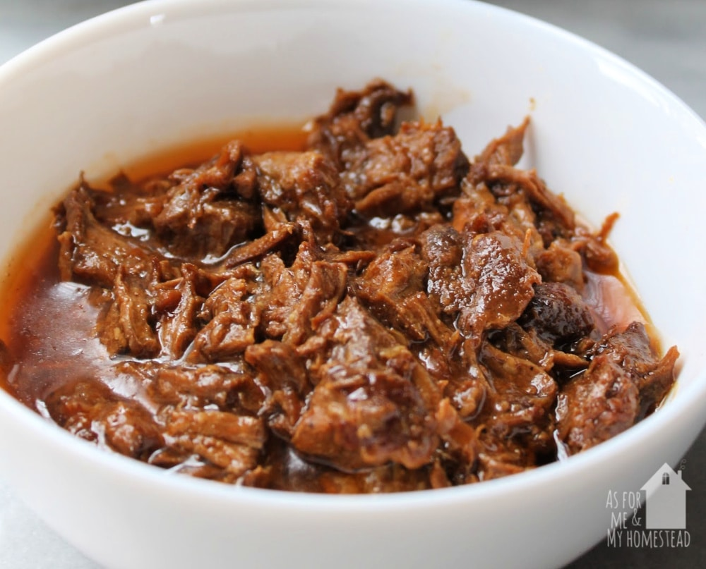 Let dinner make itself tonight, with this flavorful Slow Cooker Teriyaki Beef, made in the CrockPot.