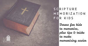 Homeschool Scripture Memorization