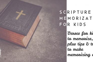 Homeschool Scripture Memorization