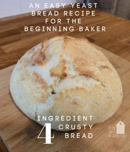 4 Ingredient Crusty Bread