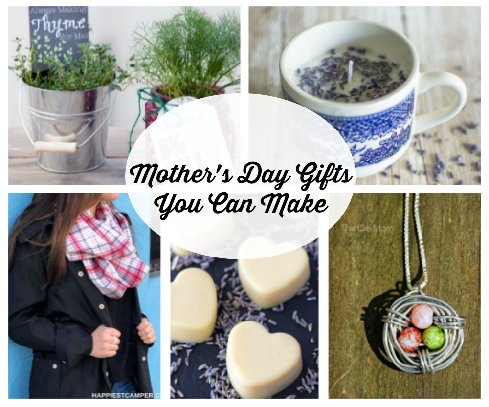 Fun DIY Mother's Day gifts for kids and adults to make, plus a giveaway!
