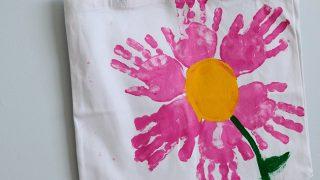 Handprint Totes