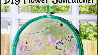 """Mother's Day """"Brave"""" Inspired DIY Flower Suncatcher"""