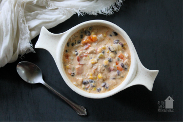 Southwestern Chicken Soup {30 Minute Dinners}