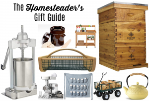Gift Guide for the Homesteader