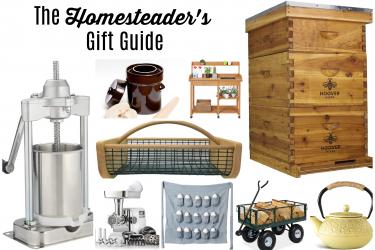 Gift Guide for the Homesteader