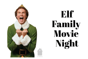 Elf Family Movie Night