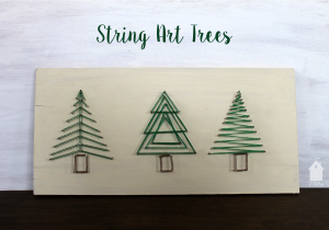 String Art Trees